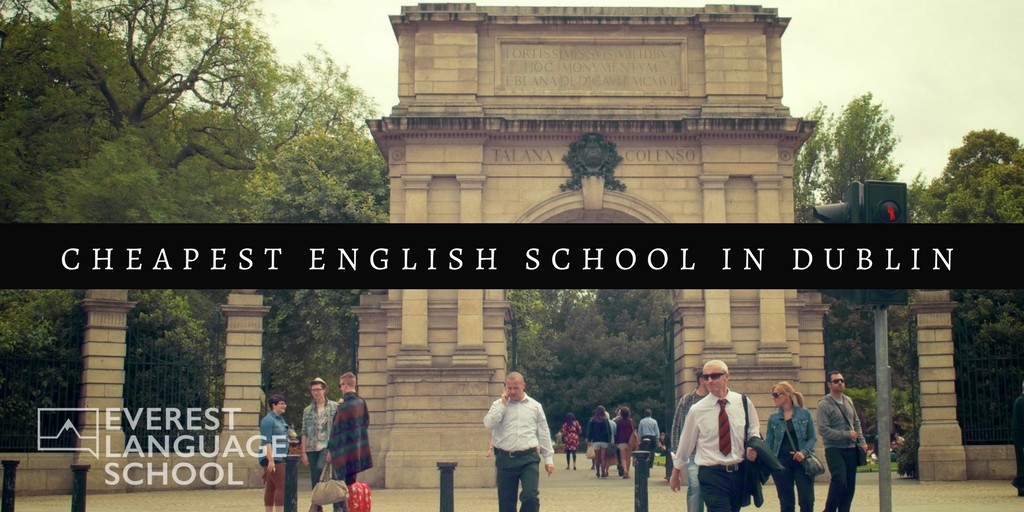 Cheap English school Dublin