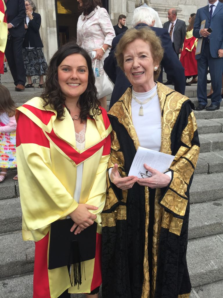 PhD graduation from Trinity College Dublin