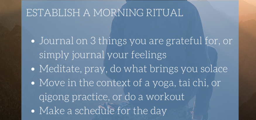 Learn English Online - Morning ritual